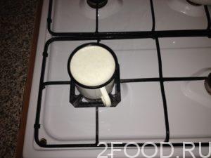 До кипения доводится молоко