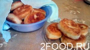 Пирожки с яйцами и грибами