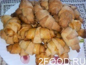 печенье рогалики