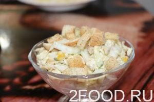 Салат с курицей и пекинской капустой на праздник