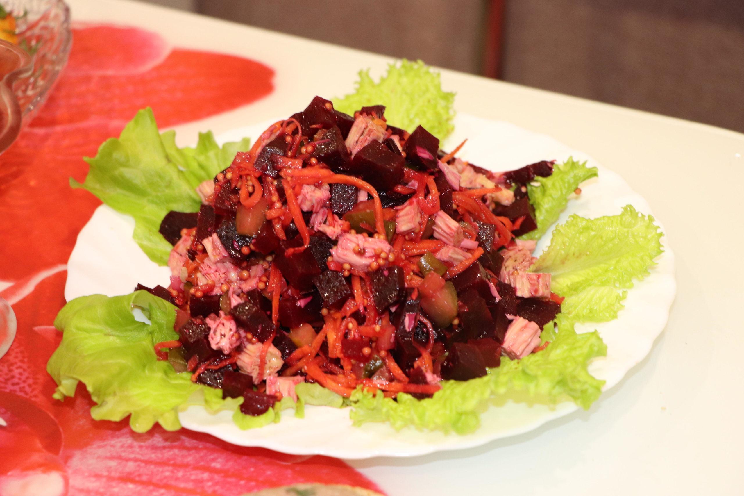 тоже диетические салаты со свеклой рецепты с фото почистить, раздавить плоской
